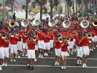 Huntington Beach Parade - Huntington Beach High School Marching Band
