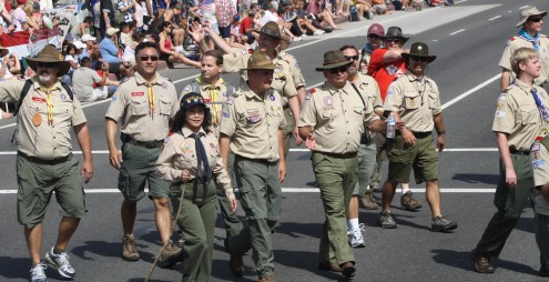 Huntington Beach Parade - Huntington Beach Boy Scouts