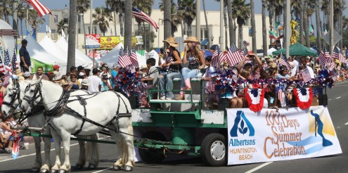 Huntington Beach Parade - Huntington Beach Albertsons