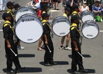 Huntington Beach Parade - Impulse Drum and Bugle Corps Marching Band
