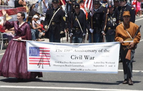 Huntington Beach Parade - Huntington Beach Civil War Reenactment