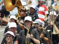 Huntington Beach Parade - Huntington Beach High School