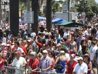 Huntington Beach Parade Spectators