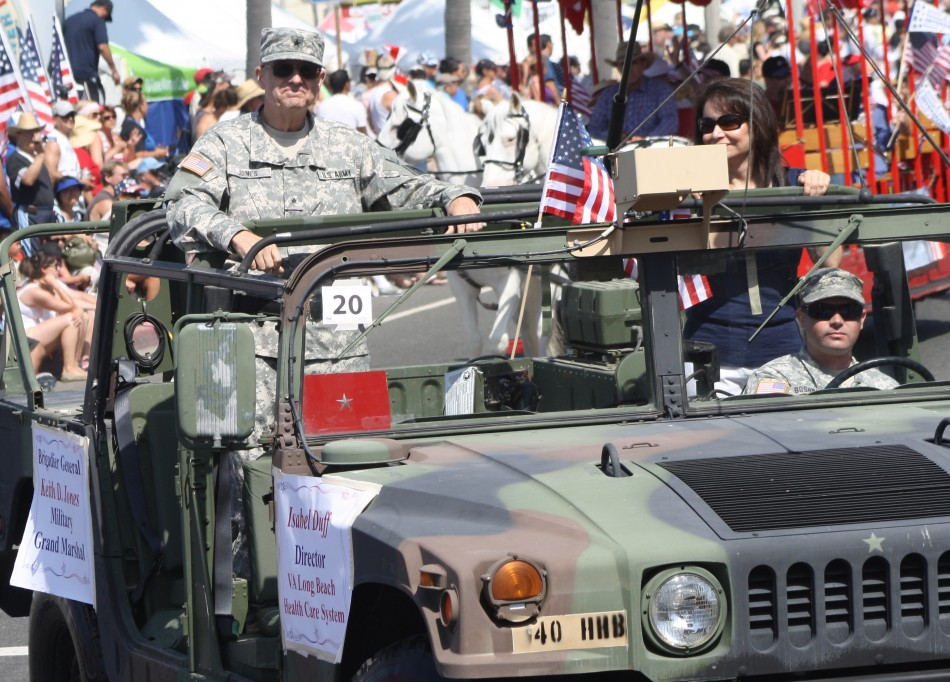 Huntington Beach Parade - Brigadier General Keith Jones