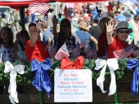 Huntington Beach Parade - Pat Stier and Stacey Newton