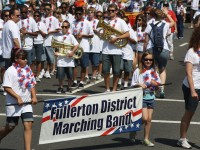 Huntington Beach Parade - Fullerton District Marching Band