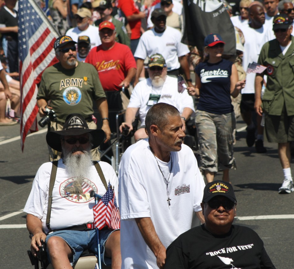 Huntington Beach Parade - US Military Vietnam Veterans