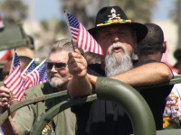 Huntington Beach Parade - US Military Veterans