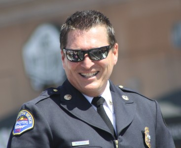 Huntington Beach Parade - Huntington Beach Fire Chief Patrick McIntosh