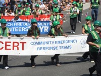 Huntington Beach Parade - Fire Department Volunteers CERT
