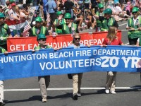 Huntington Beach Parade - Fire Department Volunteers