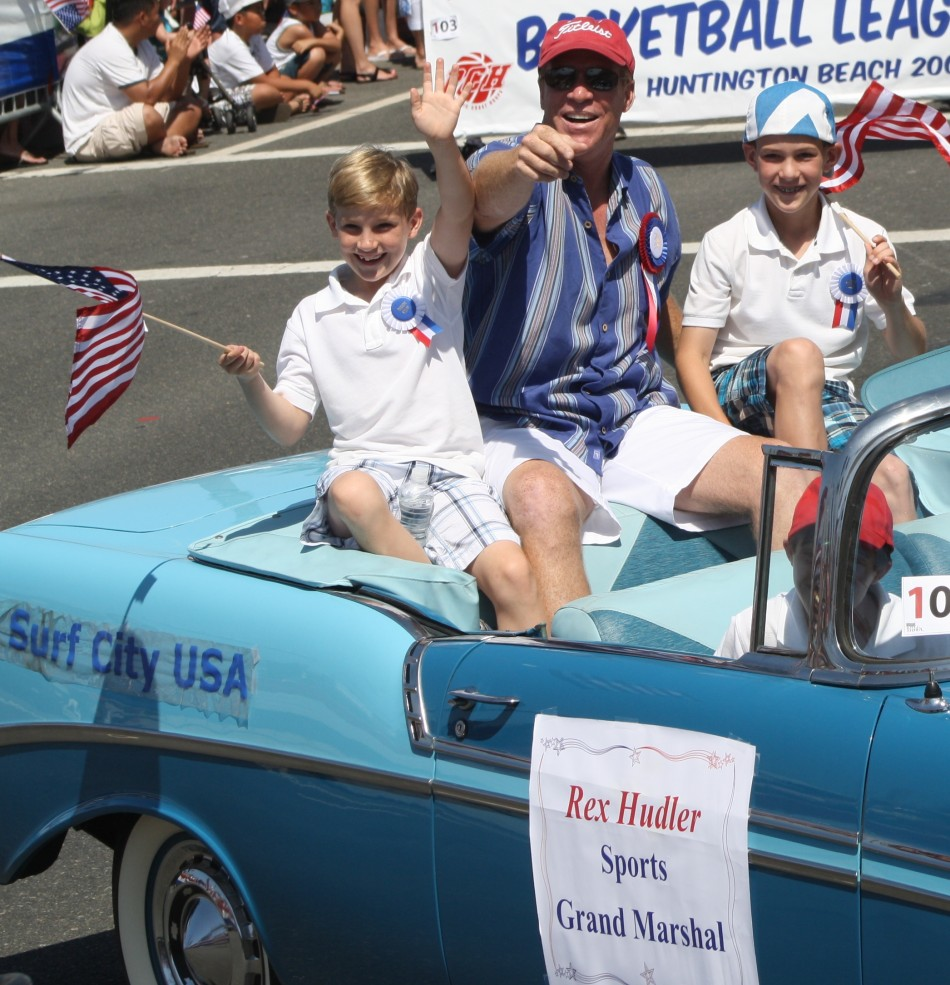 Huntington Beach Parade - Rex Hudler