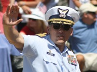 Huntington Beach Parade -  Captain Roger Laferriere US Coast Guard