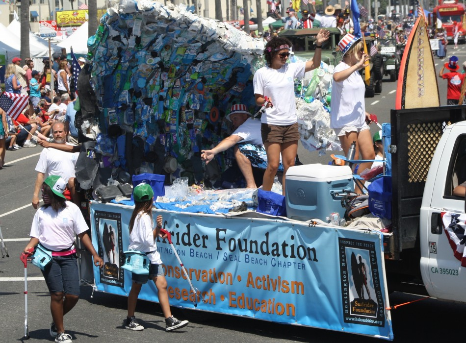 Huntington Beach Parade - Surfrider Foundation