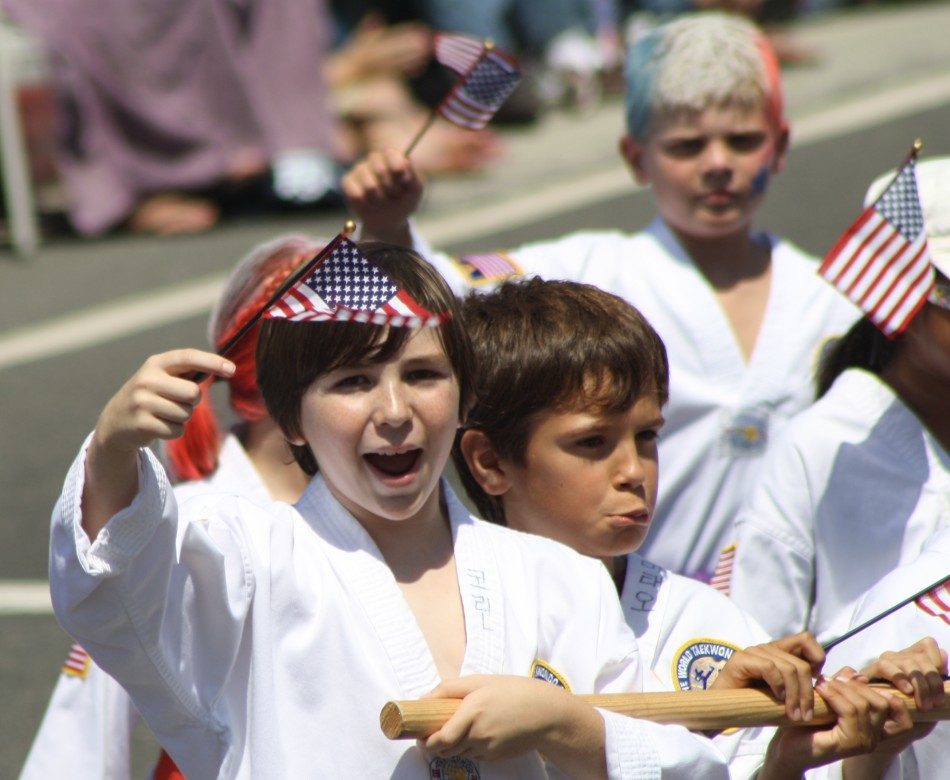 Huntington Beach Parade - Victory Martial Arts Taekwondo