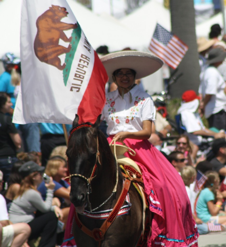 Huntington Beach Parade - Rancho Laguna Mexican Vaquero Costumes