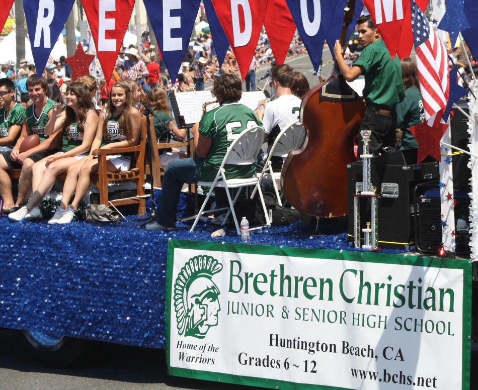 Huntington Beach Parade - Brethren Christian High School