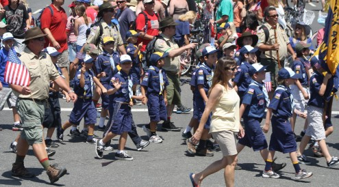 Huntington Beach Parade - Cub Scouts Boy Scouts