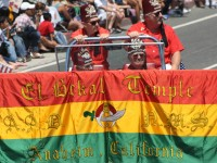 Huntington Beach Parade - El Bekal Shrine Temple Anaheim California