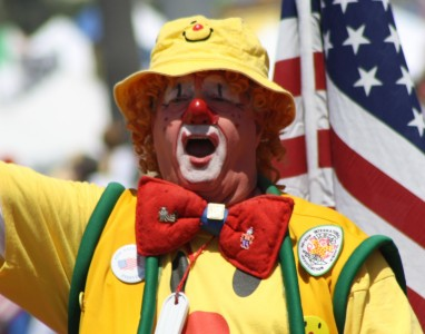 Huntington Beach Parade - El Bekal Shrine Temple Clowns