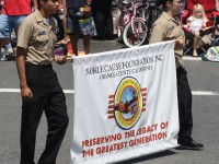 Huntington Beach Parade - Noble Cause Foundation Vintage World War Two Uniforms