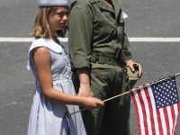 Huntington Beach Parade - Noble Cause Foundation Vintage World War Two Uniform