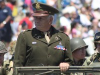 Huntington Beach Parade - Noble Cause Foundation Vintage Military Uniforms