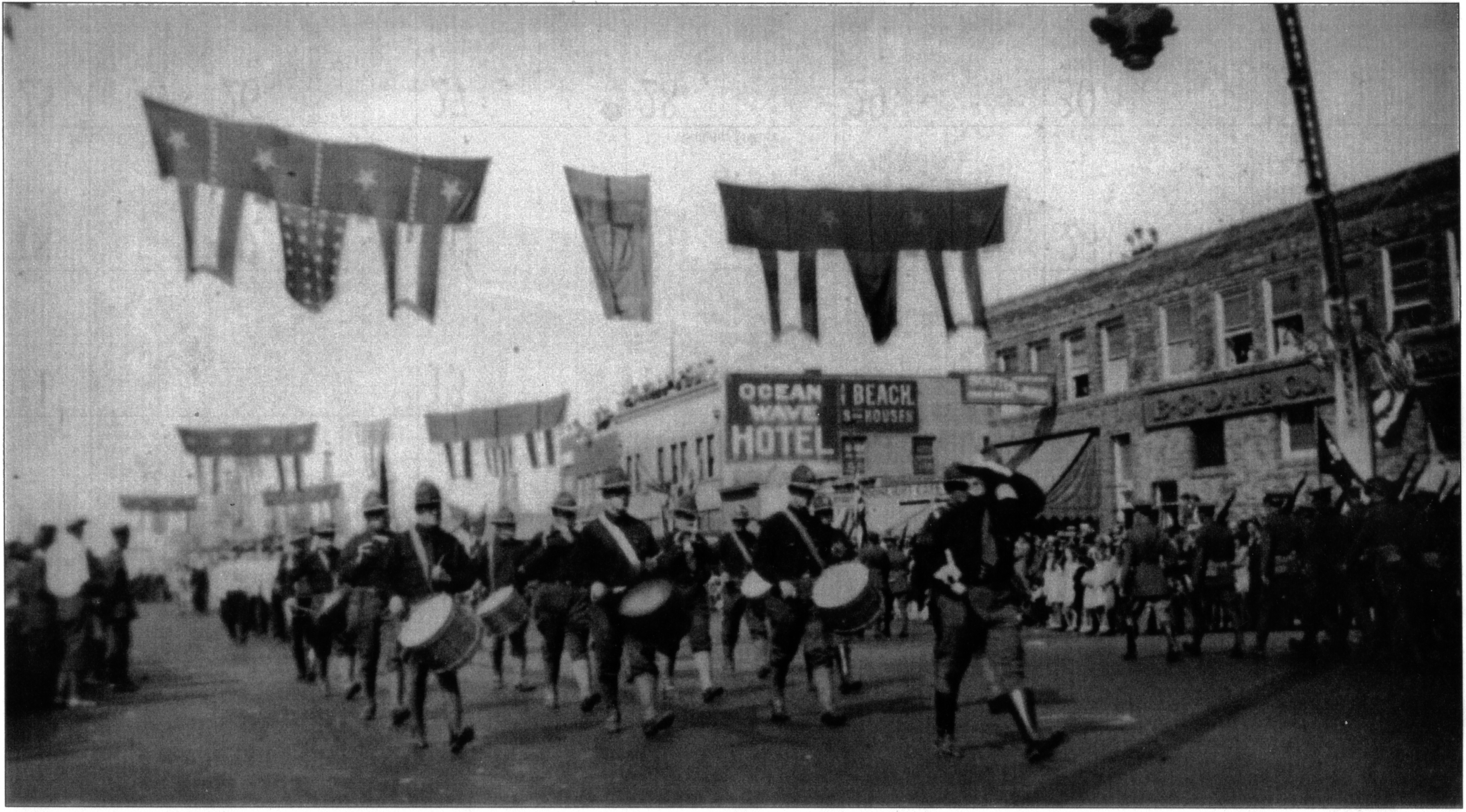 Huntington Beach 4th of July Parade circa 1930