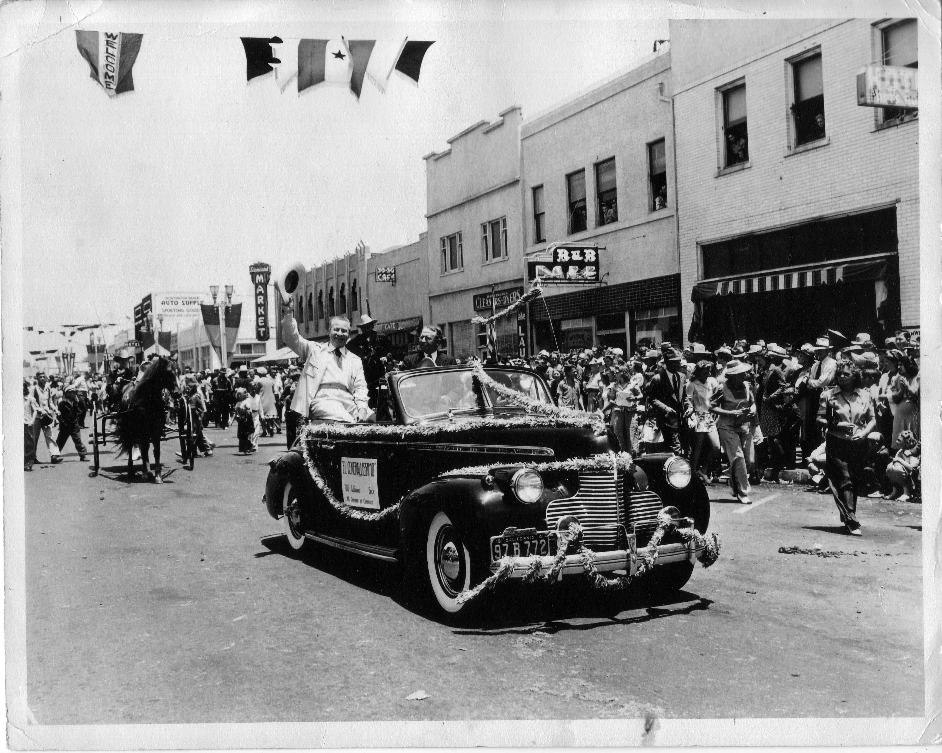 Huntington Beach Parade Historical 1942