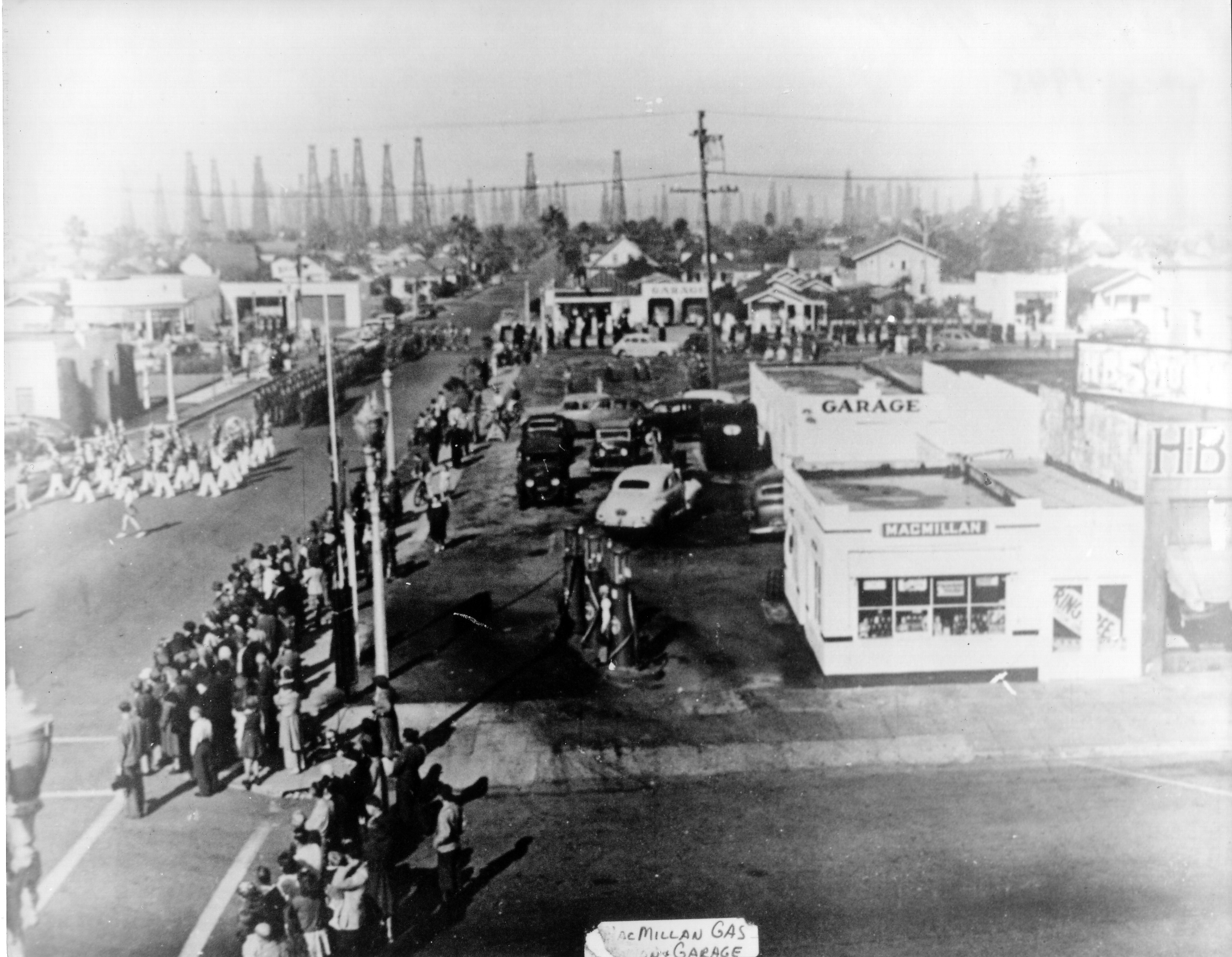 Huntington Beach Parade Historical 1945