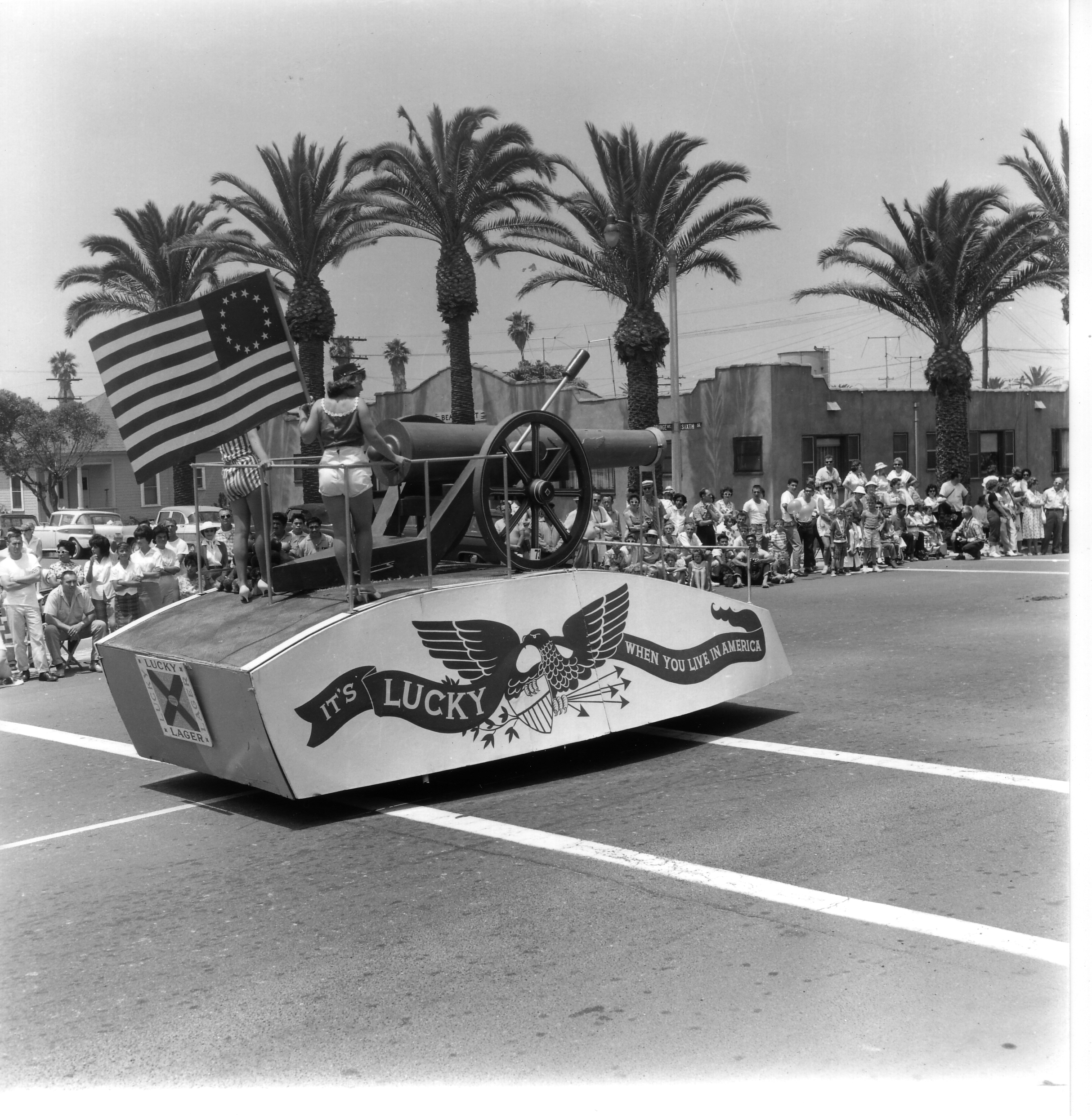 Huntington Beach Parade Historical 1960a