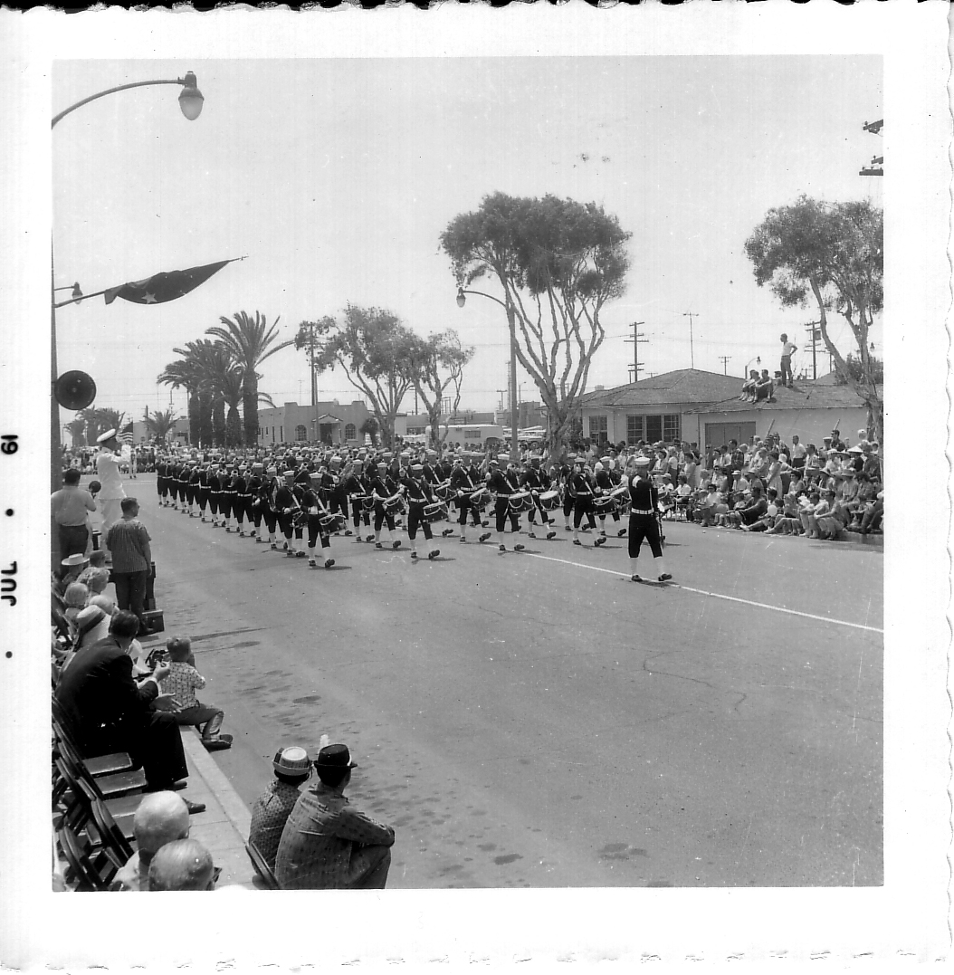 Huntington Beach 4th of July Parade 1961