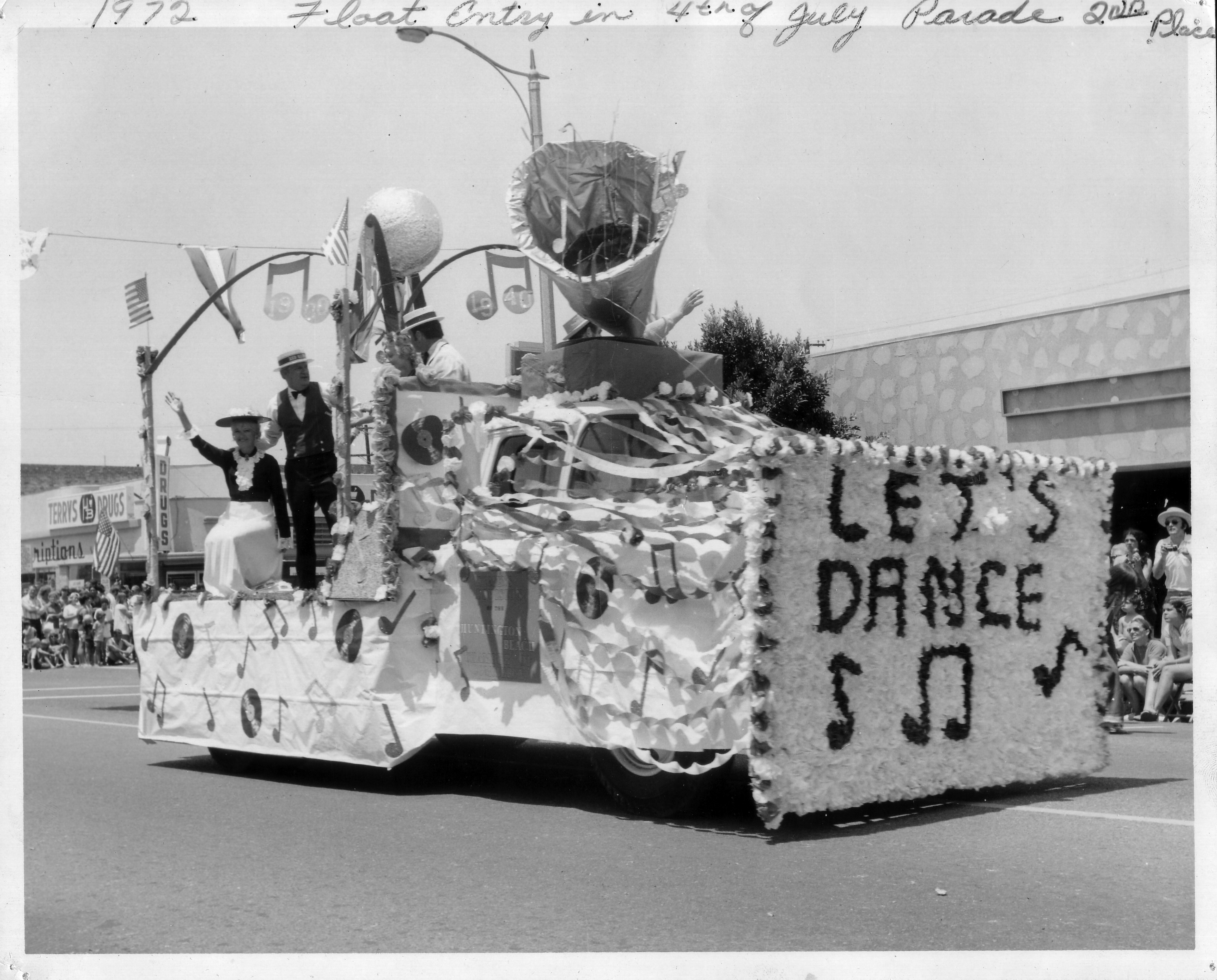 Huntington Beach 4th of July Parade 1972