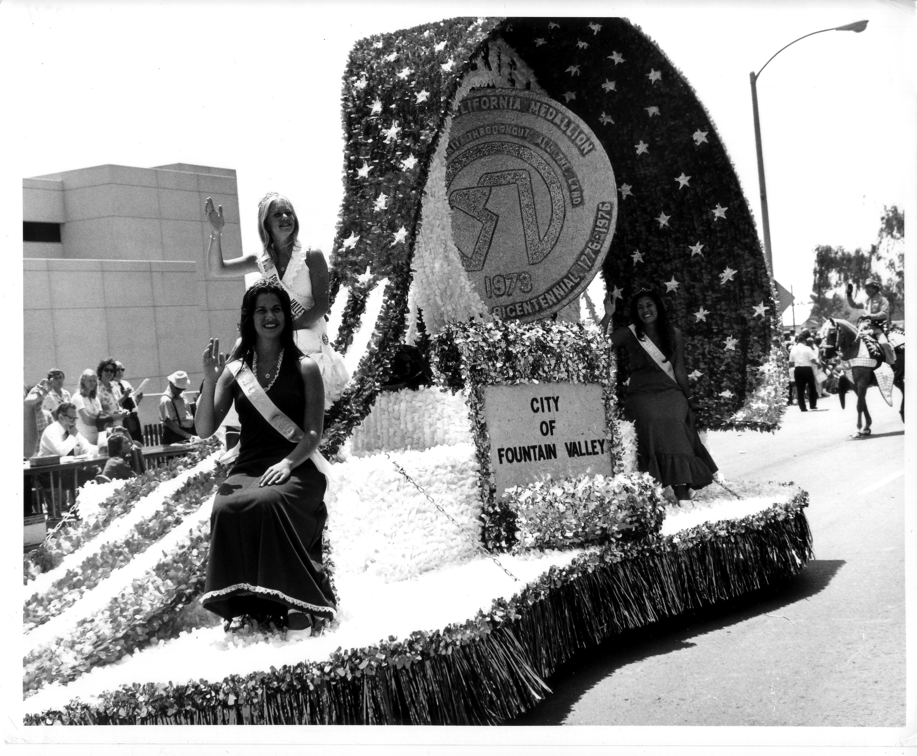 Huntington Beach 4th of July Parade 1974