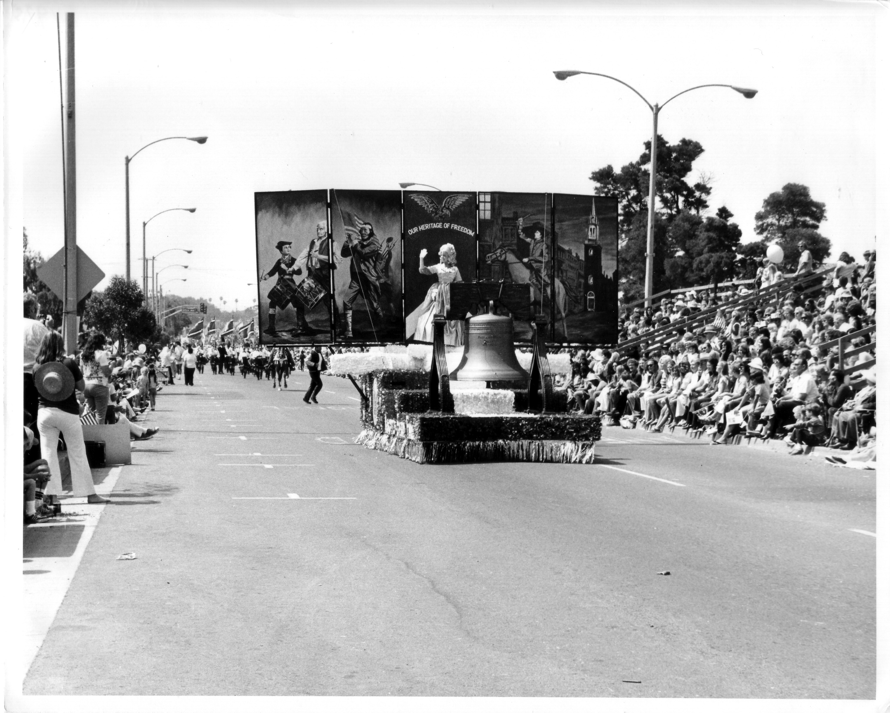Huntington Beach 4th of July Parade 1975