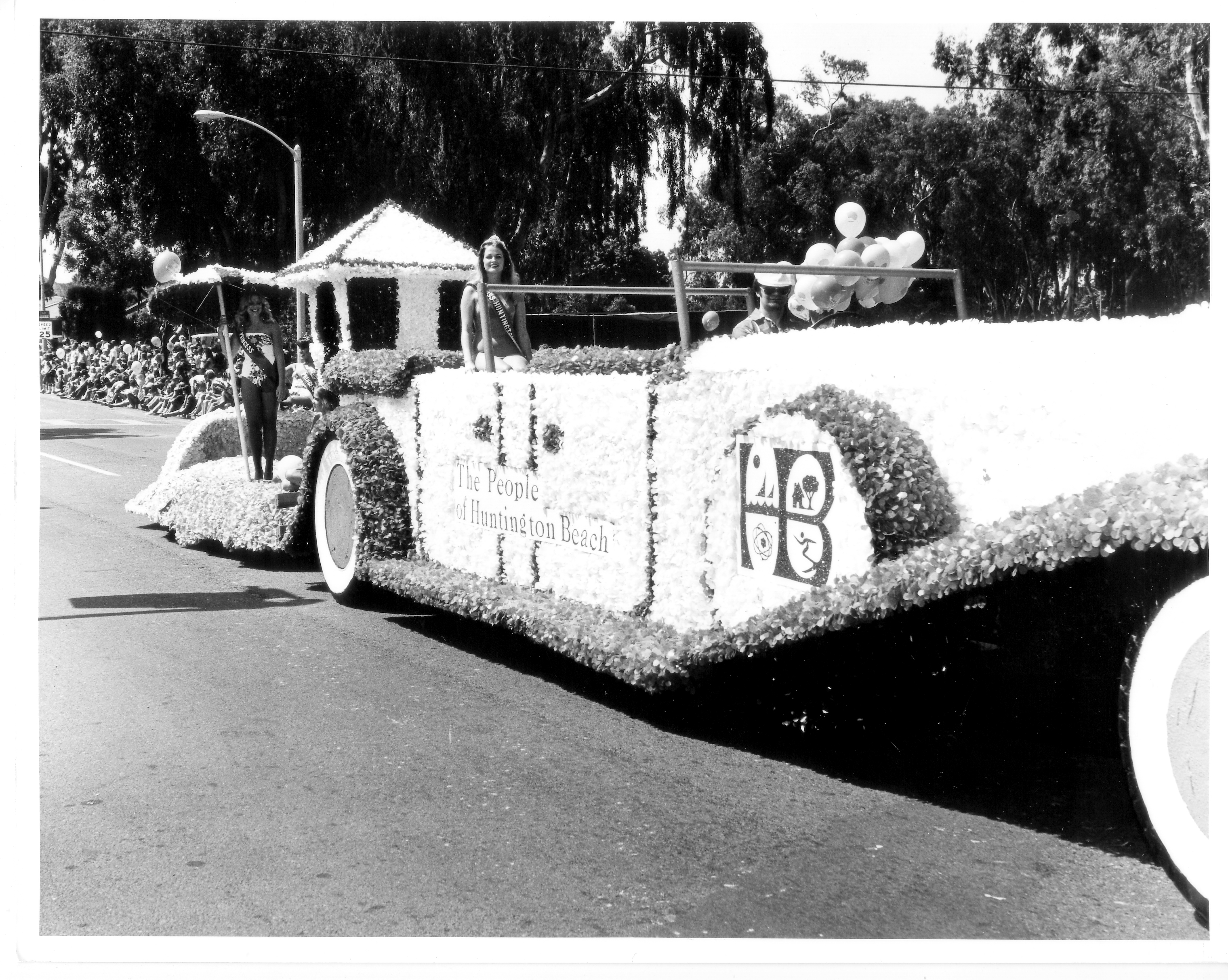 Huntington Beach 4th of July Parade circa 1980